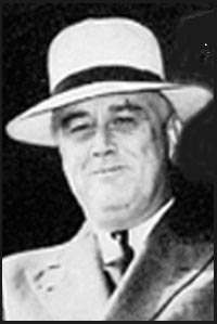 History of Straw hats and Felt hats  - Franklin Roosevelt